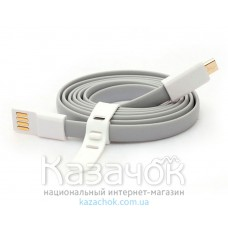USB-кабель VOJO Trim2 Mi Colorful micro USB 3.0 Gray