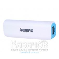 Внешний аккумулятор Remax RPL-3 Mini White 2600mAh Blue