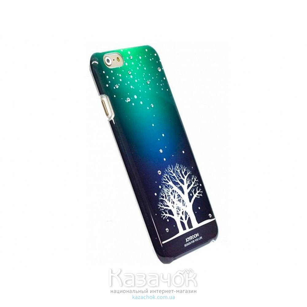 Пластиковая фосфорная накладка Joyroom Phone 6/6S Tree