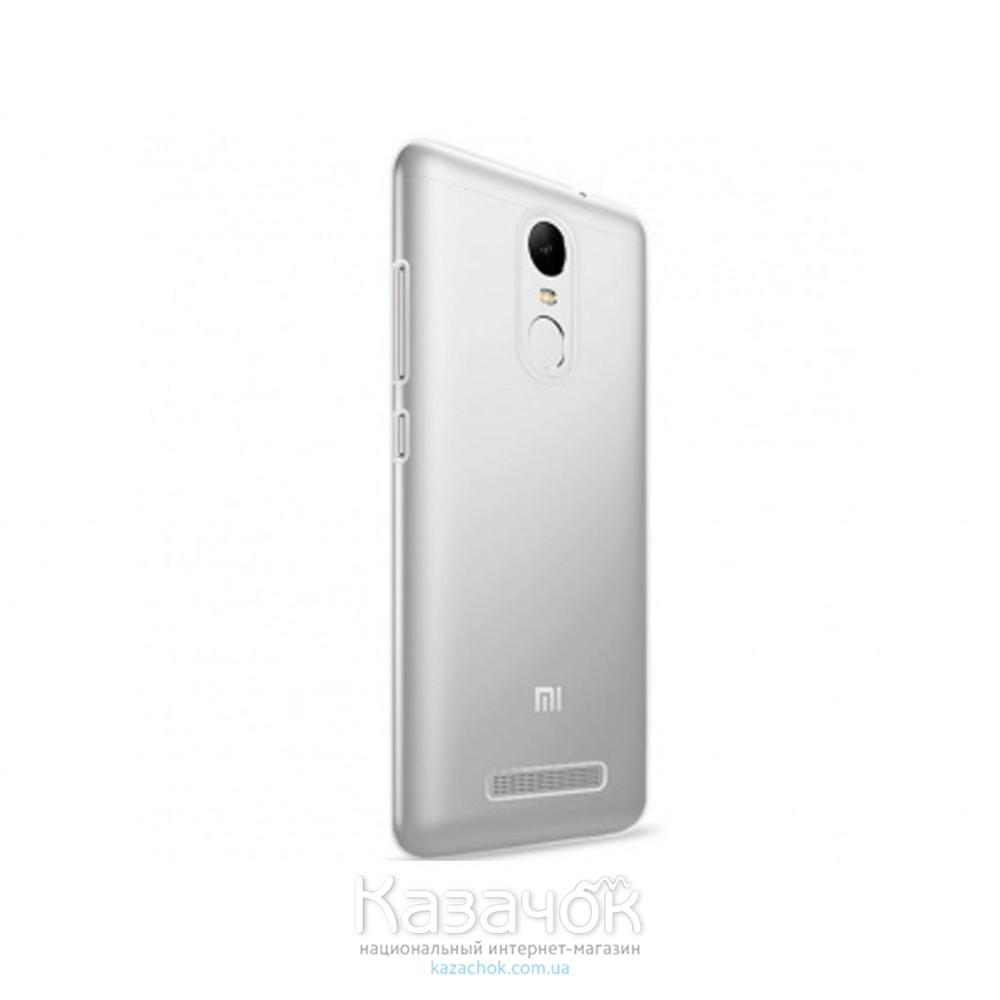 Силиконовая накладка Remax Xiaomi Redmi 3 Note 0.2 mm Transparent