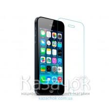 Защитное стекло iPhone 5/5S Remax (0,2mm) + защитная пленка на заднюю часть