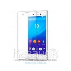 Защитное стекло Sony M4 Aqua