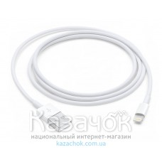 Apple Lightning to USB Cable White (box)