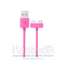 USB кабель Remax iPhone 4/4S Light Speed Series 1m Pink