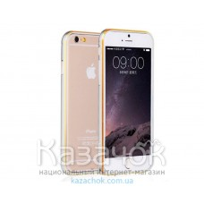 Бампер iPhone 6 Yoobao Aluminium Silver/Gold