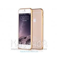 Бампер iPhone 6 Aluminium Gold/Gold