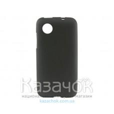 Силиконовая накладка Lenovo A398 Black