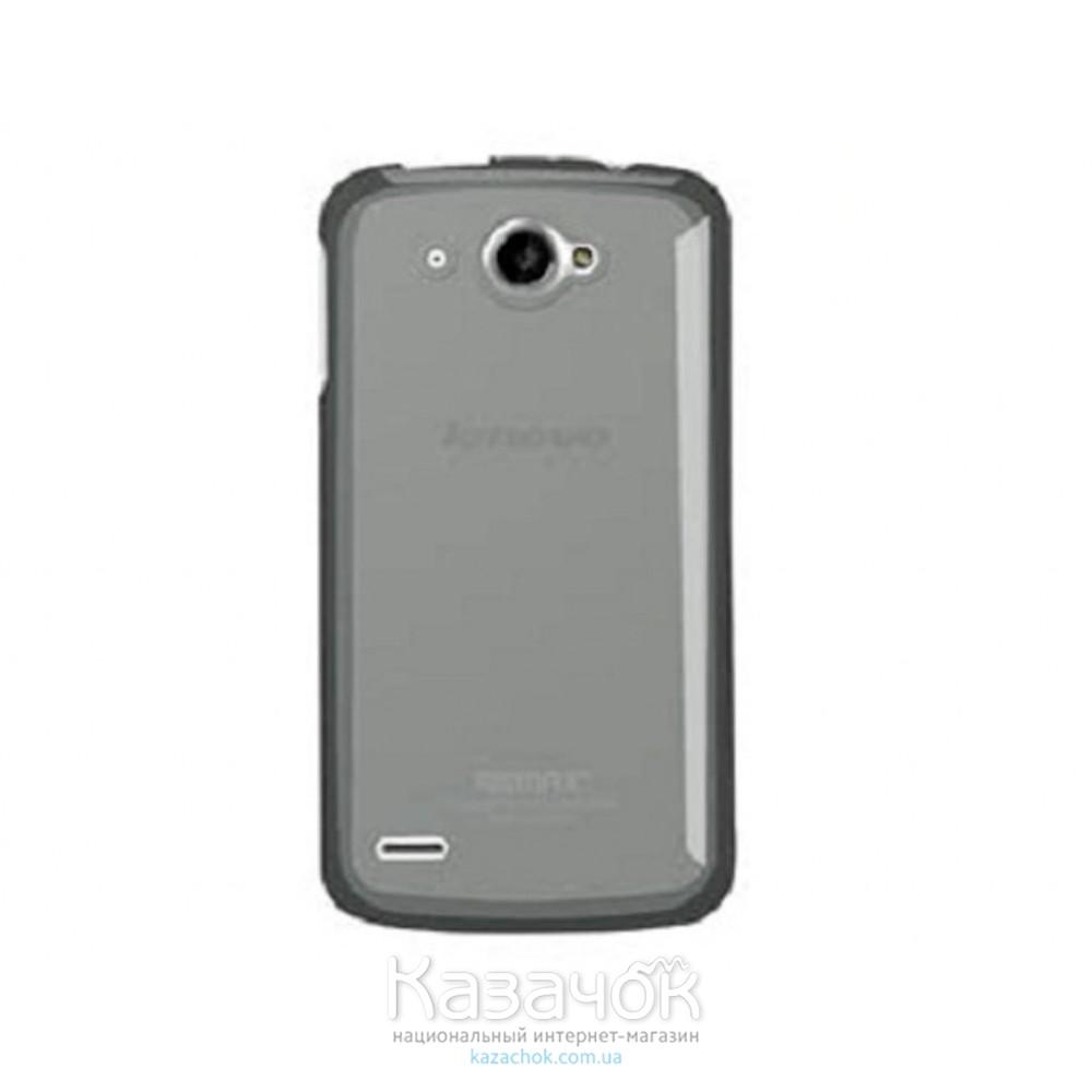 Силиконовая накладка Lenovo S920 Remax Pudding Series Grey