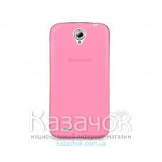 Силиконовая накладка Lenovo A5000 Pink