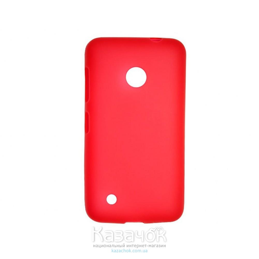 Силиконовая накладка Nokia 530 Red