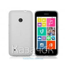 Силиконовая накладка Nokia 530 White
