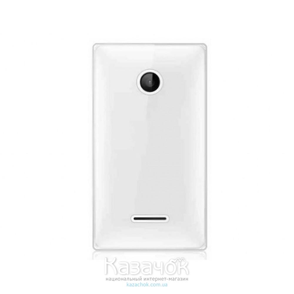 Силиконовая накладка Nokia 532 White