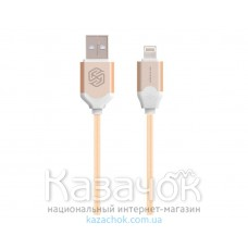 USB-кабель NILLKIN Aurora Lightning Cable 2.1 A Gold