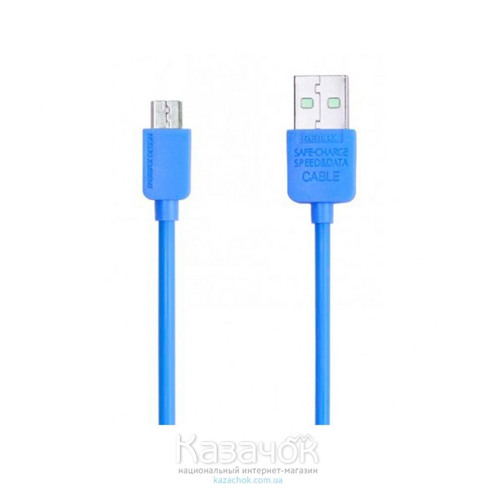 USB-кабель Remax Micro USB Light Speed Series 1m Blue