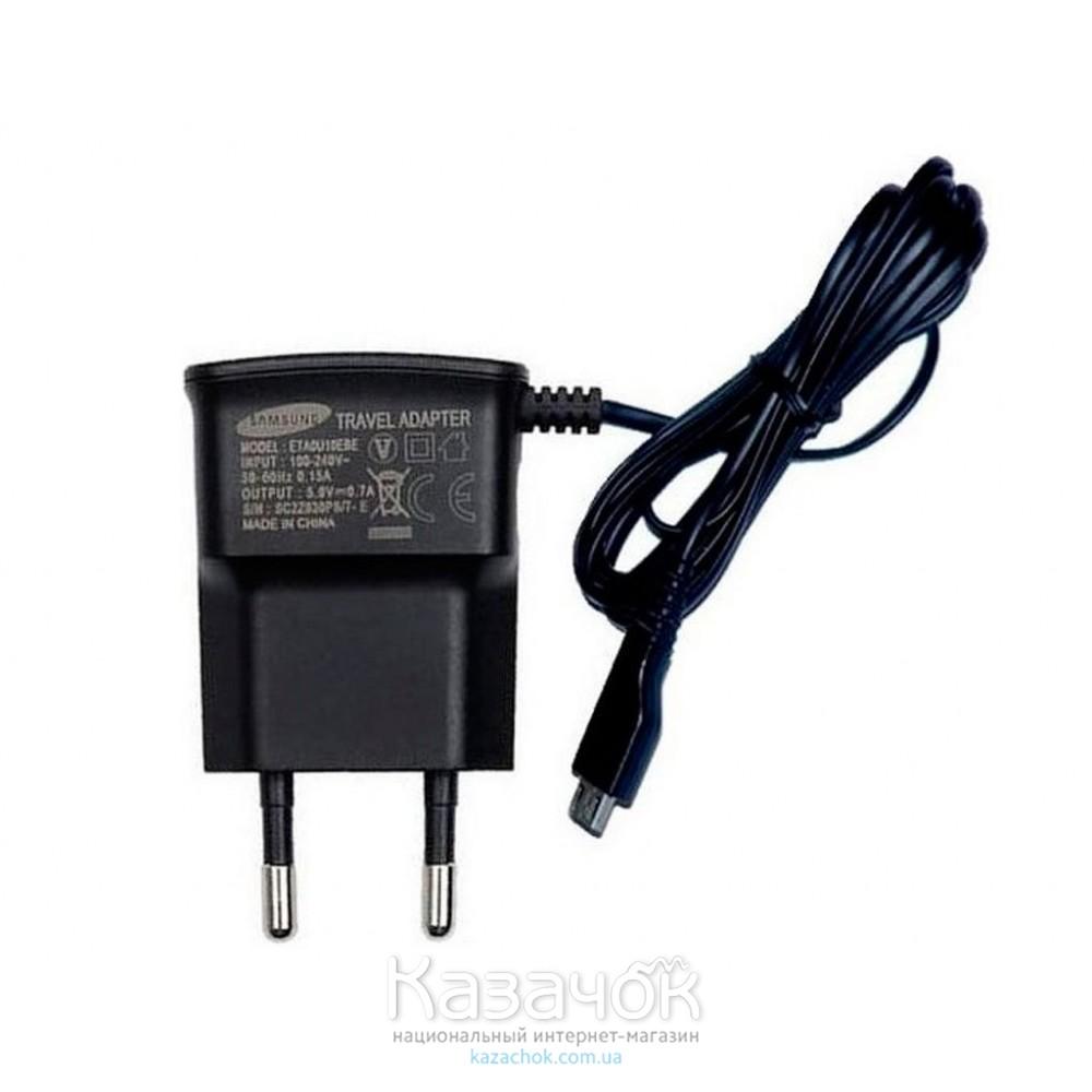 Сетевое зарядное устройство Samsung HC Micro USB (ETAOU10EBE)