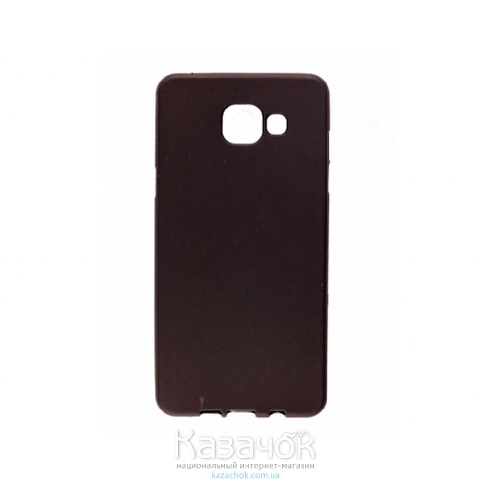 Силиконовая накладка Samsung A5 A510 Black