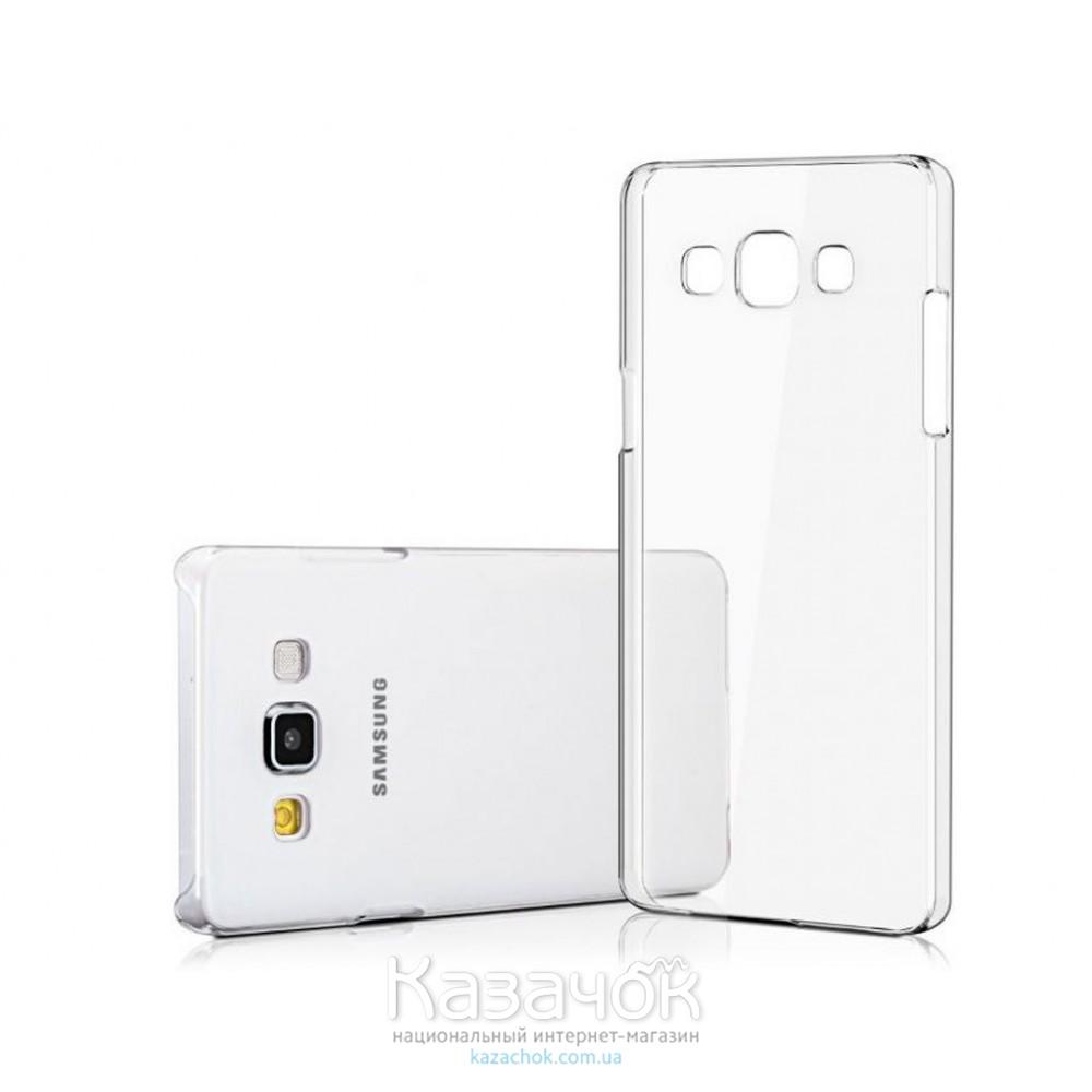 Силиконовая накладка Samsung A5 A500 Ultrathin Transparent