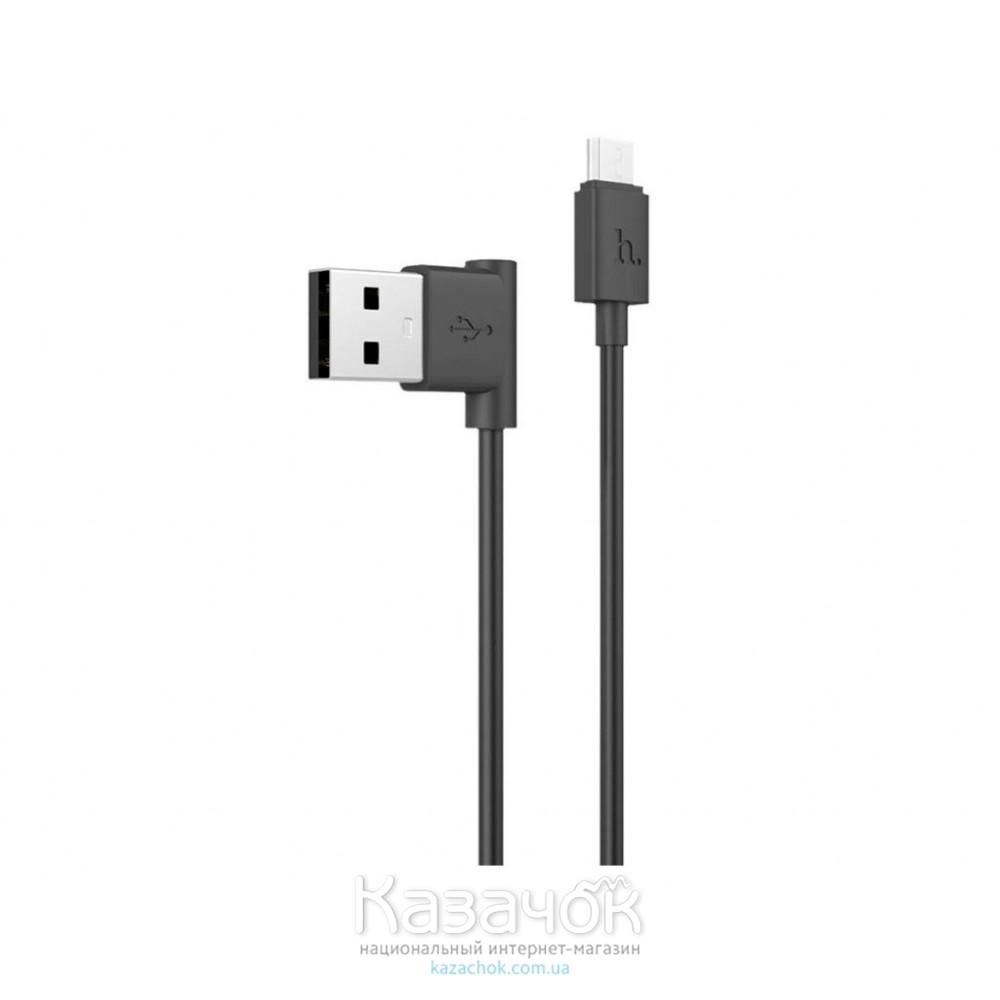 USB-кабель HOCO UPM10 L-type Micro USB Black
