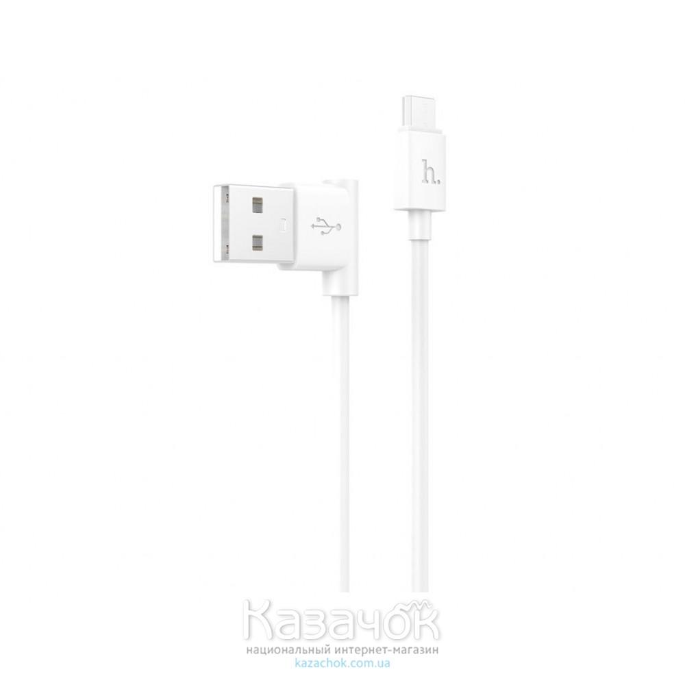 USB-кабель HOCO UPM10 L-type Micro USB White