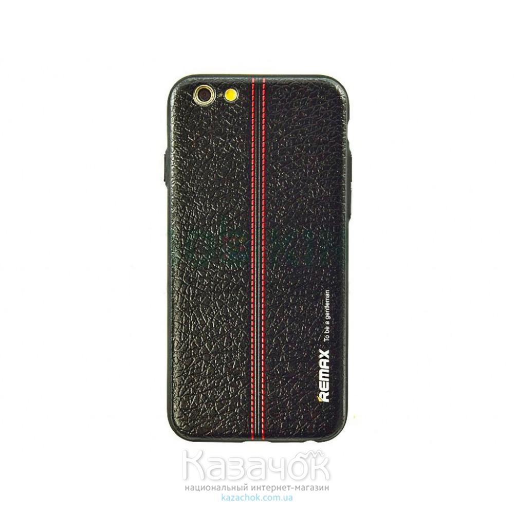 Пластиковая накладка iPhone 6/6S Remax Gentleman Series Leather (2-0131)