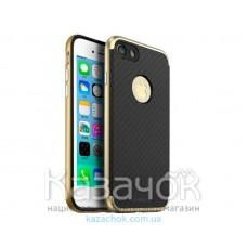 Силиконовая накладка iPaky TPU+PC iPhone 7 Plus Gold