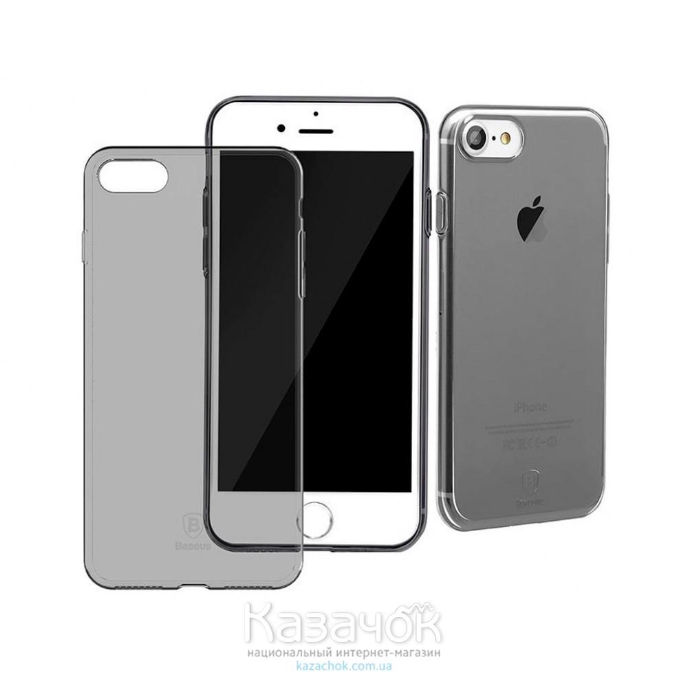 Силиконовая накладка Baseus iPhone 7 Plus Simple Black