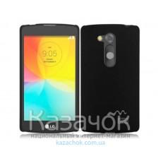 Силиконовая накладка LG D295 L Fino Black