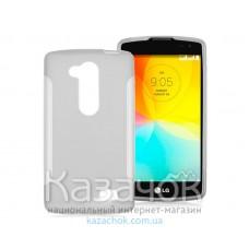 Силиконовая накладка LG D295 L Fino White