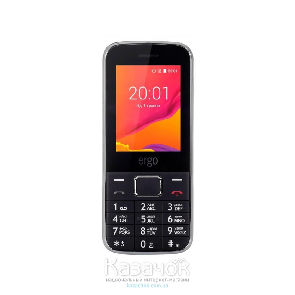 Мобильный телефон Ergo F240 Pulse Dual Sim Black