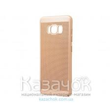 Пластиковая накладка Samsung S8 G950 Perfo Soft Touch Gold
