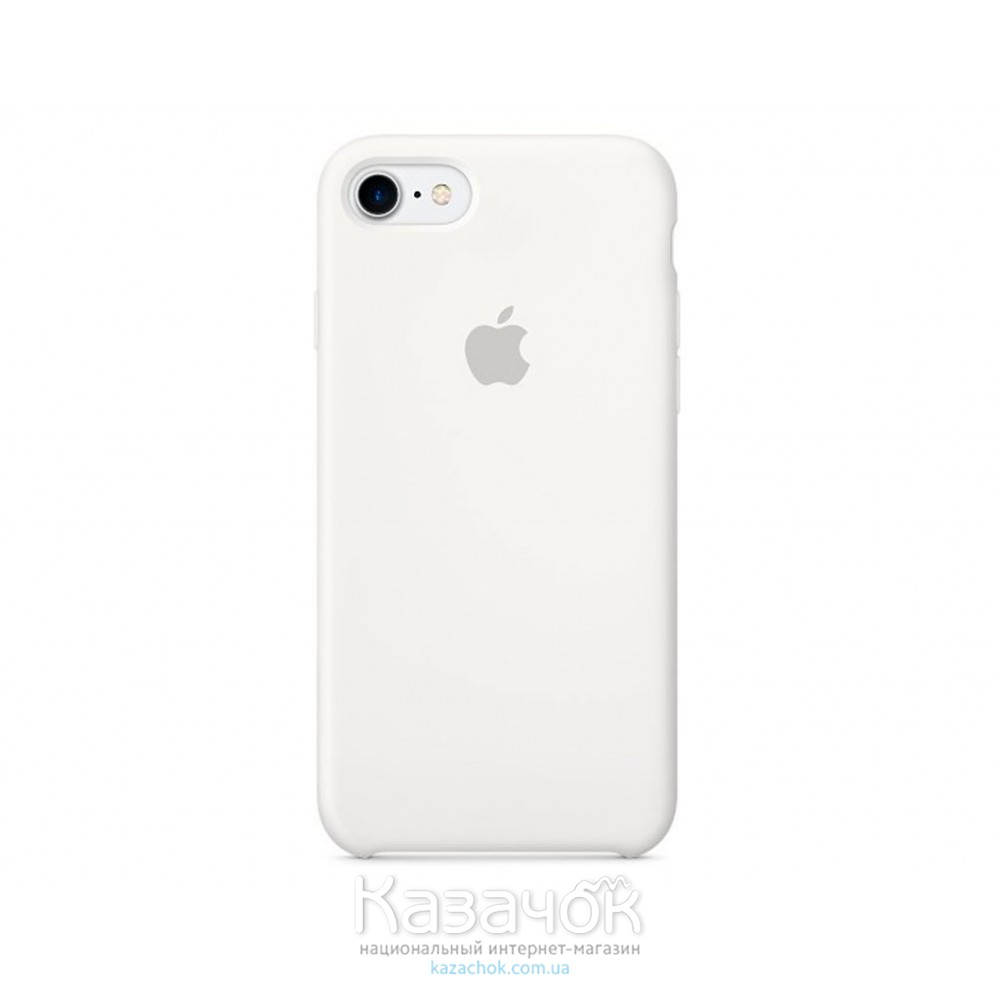 Накладка iPhone 7 Soft Case White