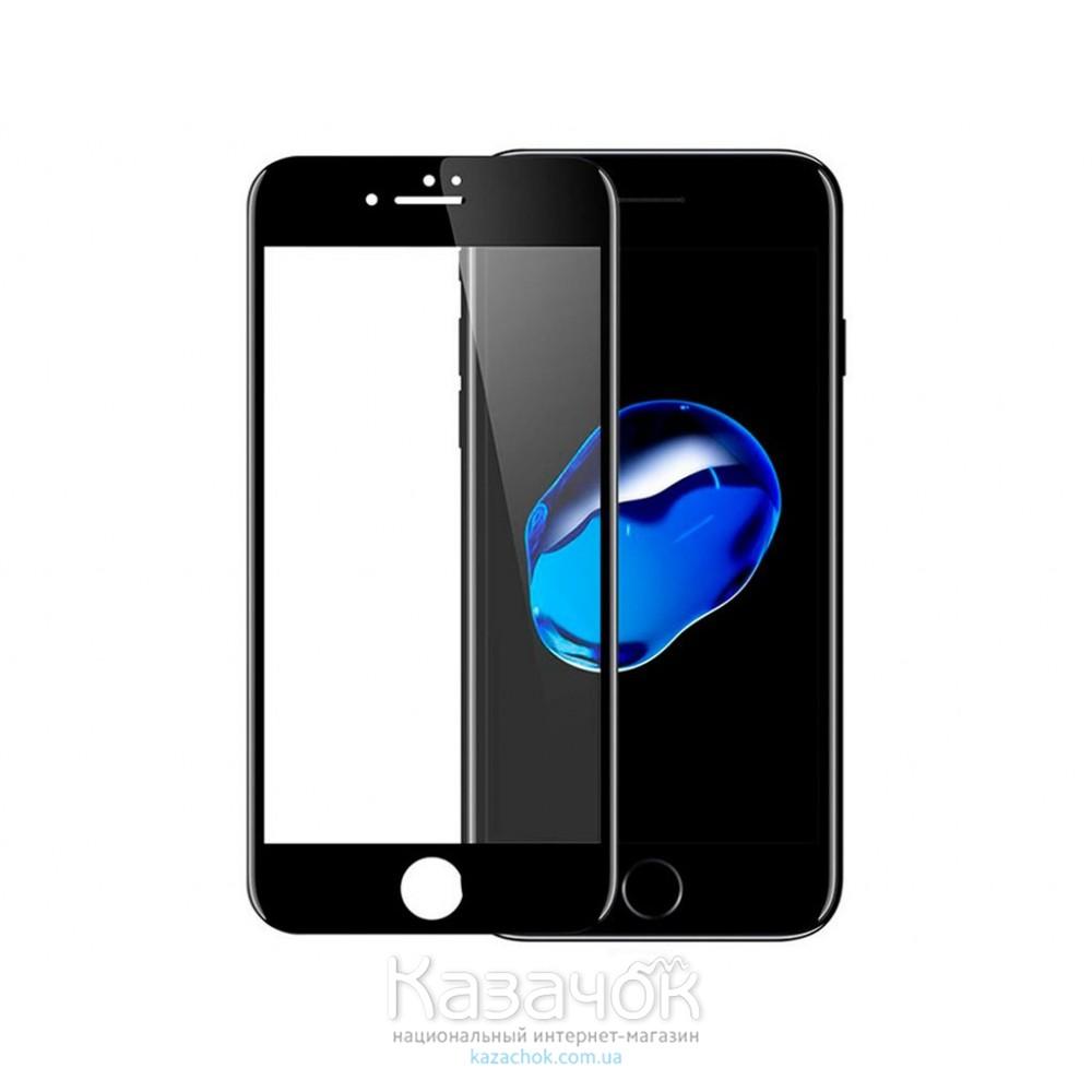 Защитное стекло iPhone 7 4D Black