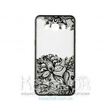 Пластиковая накладка Huawei Y3 II Rock Tatoo Art Fantasy Flowers
