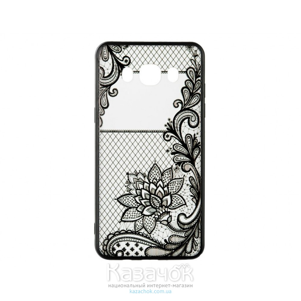 Пластиковая накладка Huawei Y3 II Rock Tatoo Art Magic Flowers