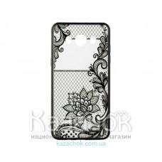 Пластиковая накладка Huawei Y3 II Rock Tatoo Art Magic Flowers