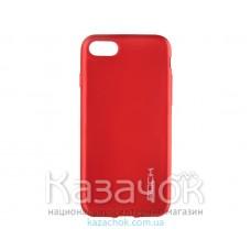 Силиконовая накладка Huawei Y3 II Rock Matte Series Red