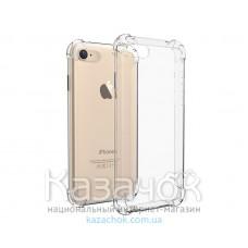 Противоударная силиконовая накладка iPhone 7 Remax Proof Series Transparent