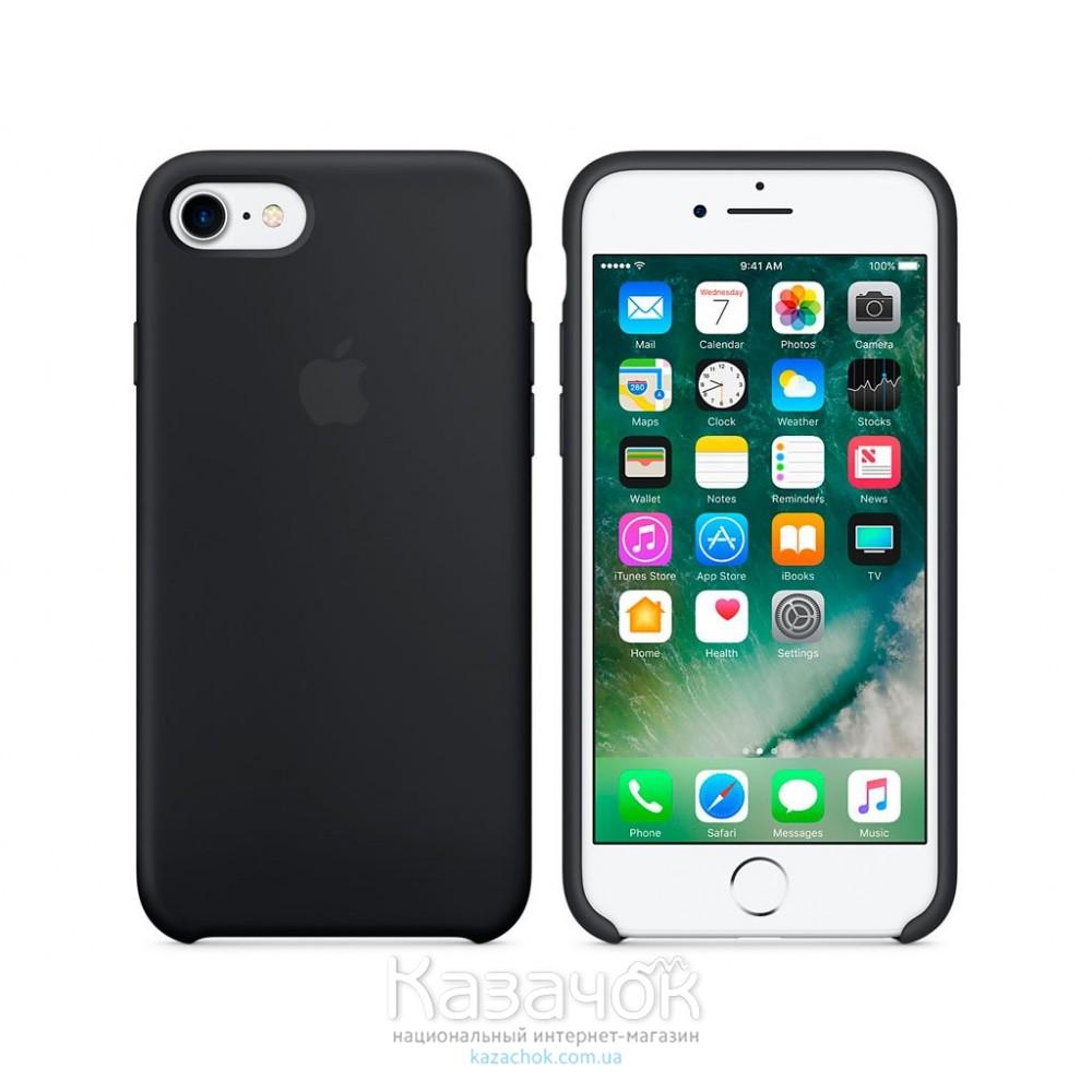 Накладка iPhone 7 Soft Case Black