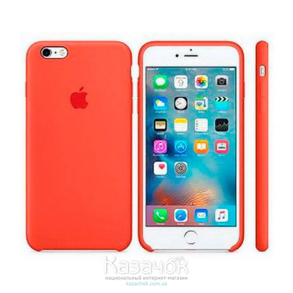 Накладка iPhone 7 Soft Case Orange