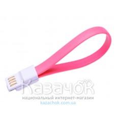 USB-кабель iMee Mono series micro USB Pink