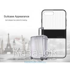 Силиконовая накладка iPhone 7 Baseus Travel Case Black (Transparent)