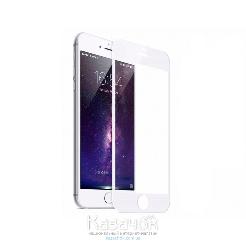 Защитное стекло HONOR iPhone 7 Anti-Blue (Анти-ультрафиолет) Ray 4D White