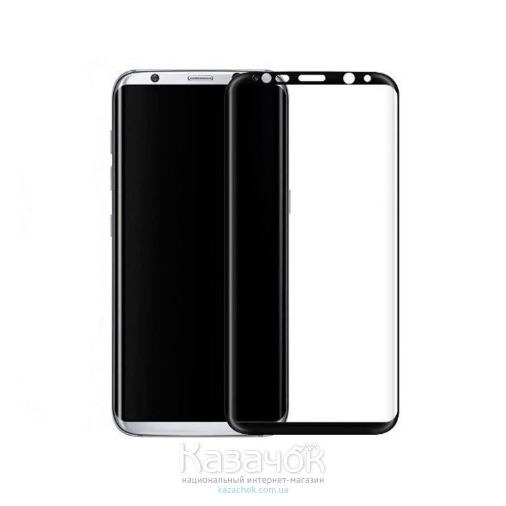Защитное стекло Samsung S8 G950F 4D Black