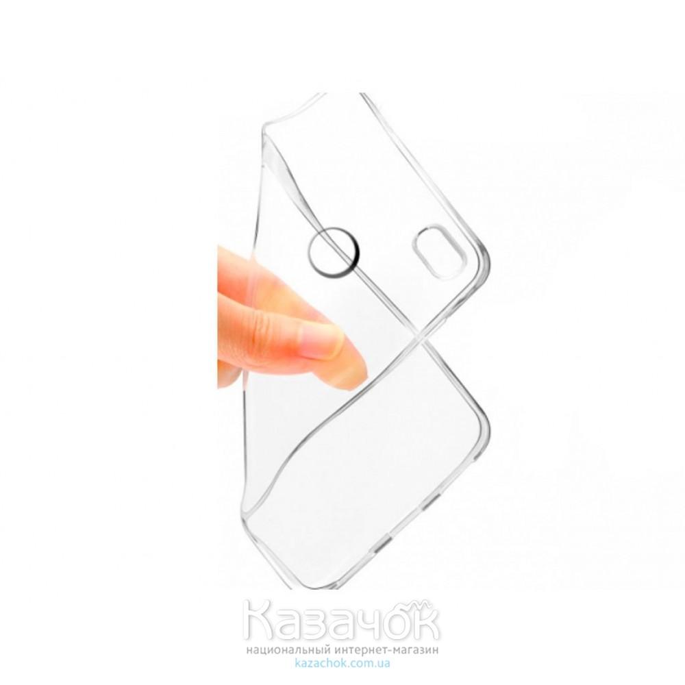 Силиконовая накладка Huawei P8 Lite 2017 Remax 0.2 mm Transparent