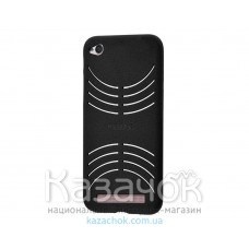 Силиконовая накладка Samsung J5 Prime G570 Remax Velour Series Black