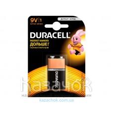 Батарейка Duracell 9V 6LP3146/MN1604 KPN1*10 1шт.