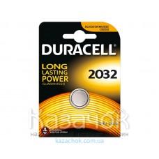 Батарейка Duracell DL2032 DSN 1 шт.