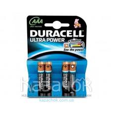 Батарейка Duracell LR03 MX2400 KPD 04*10 TURBO MAX 1x4 шт.