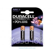 Батарейка Duracell LR03 MX2400 KPD 02*20 TURBO MAX 1x2 шт.