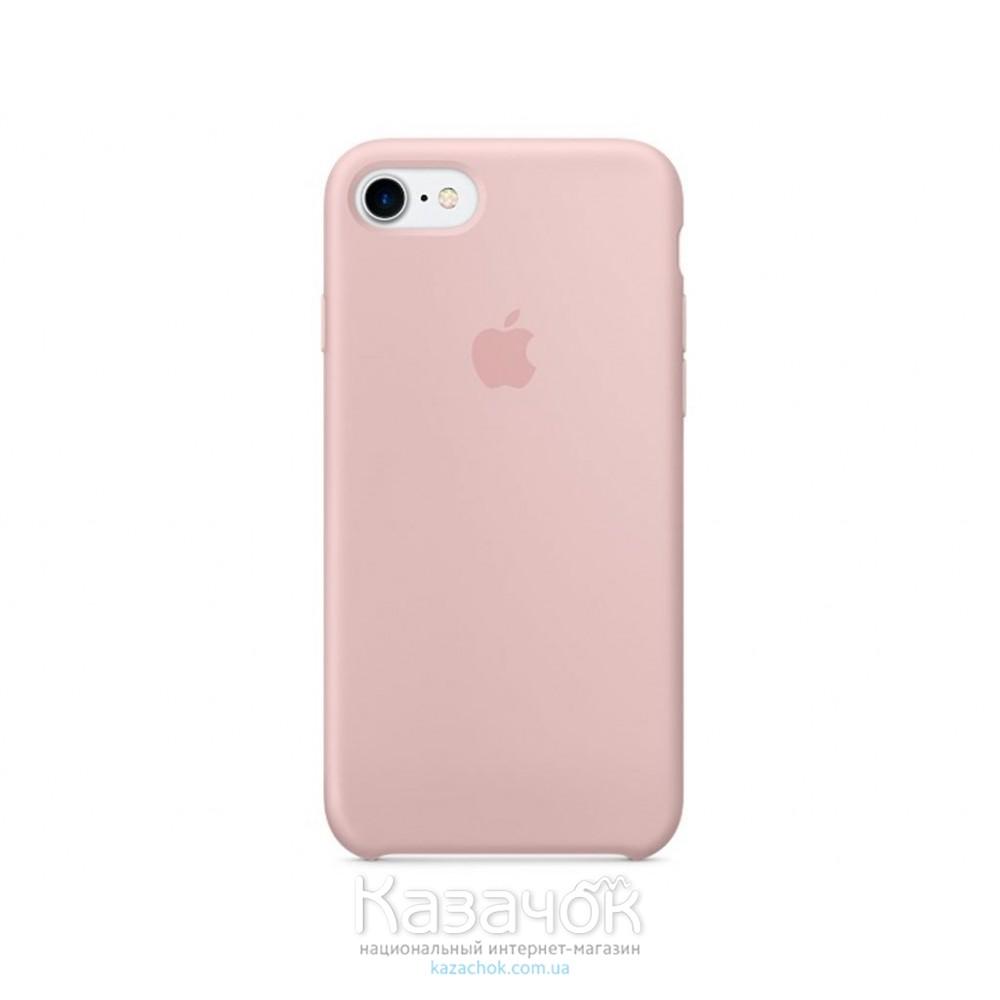 Накладка iPhone 7 Soft Case Pink